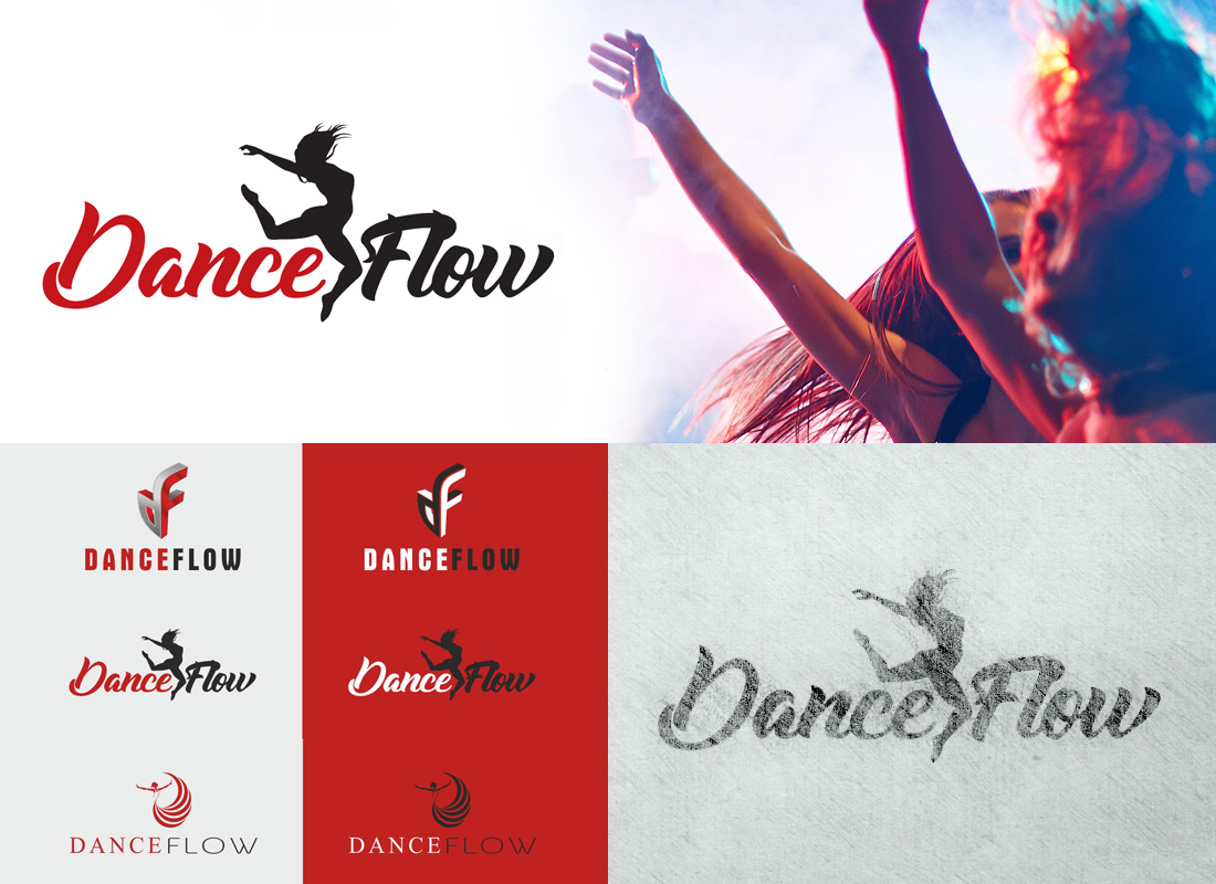 Logo Dance Flow